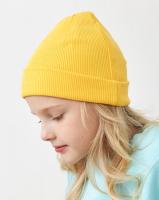 Шапка детская Mark Formelle 227006 (р.52, желтый-1) -