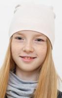 Шапка детская Mark Formelle 227007 (р.52, молочный-1) -