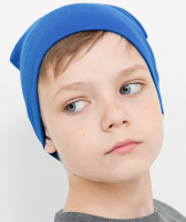Шапка детская Mark Formelle 227007 (р.52, темно-синий) -