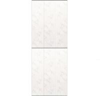 Экран-дверка Comfort Alumin Хлопковый мрамор 0.83x2м -
