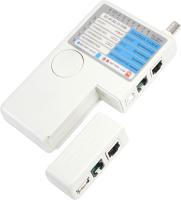 Кабельный тестер Rexant RJ-45+RJ-11+RJ-12+USB+BNC HT-2468B / 12-1003 -