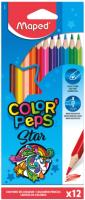 Набор цветных карандашей Maped Color Peps / 183212 (12шт) -
