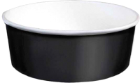 Набор биоразлагаемых контейнеров Krafteco 750мл (50шт, черный) -