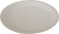 Набор бумажных тарелок Krafteco Крафт 230 с биоламинацией (50шт) -