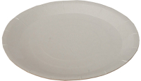 Набор бумажных тарелок Krafteco Basic 15 мелованная (100шт) -