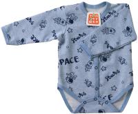 Боди для младенцев Топотушки С длинным рукавом / 6411-74 (синий) -