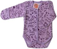 Боди для младенцев Топотушки С длинным рукавом / 6711-62 (сиреневый) -