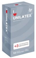 Презервативы Unilatex Ribbed №12 -