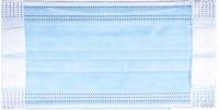 Маска защитная одноразовая Senso Голубая  (100шт) -