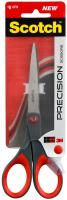Ножницы канцелярские Scotch Precision / 1447 (красный/серый) -