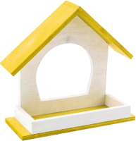 Кормушка для птиц Дарэленд Конфетти / RP85041 (желтый) -