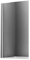 Стеклянная шторка для ванны Wasserkraft Berkel 48P01-80 (140x80) -