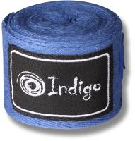 Боксерские бинты Indigo 1115 (3.5м, синий) -