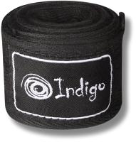 Боксерские бинты Indigo 1115 (3.5м, черный) -