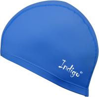 Шапочка для плавания Indigo IN048 (синий) -