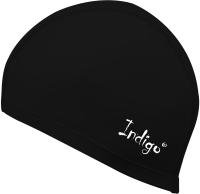 Шапочка для плавания Indigo IN048 (черный) -