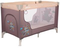 Кровать-манеж Pituso Florecita / P613 (бежевый) -