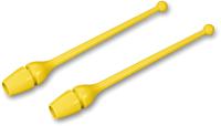 Булавы для художественной гимнастики Indigo SM-352 (желтый) -