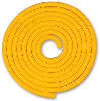Скакалка для художественной гимнастики Indigo SM-121 (2.5м, желтый) -