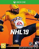 Игра для игровой консоли Microsoft Xbox One NHL 19 -