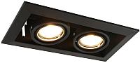 Точечный светильник Arte Lamp A5941PL-2BK -