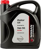 Моторное масло Nissan 5W30 / KE90099943VA (5л) -
