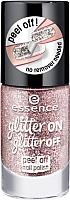 Лак для ногтей Essence Glitter On Glitter Off Peel Off Nail Polish тон 02 (8мл) -