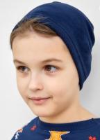 Шапка детская Mark Formelle 227013 (р.50, синий) -