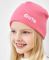Шапка детская Mark Formelle 227013 (р.50, розовый/298-D вышивка) -