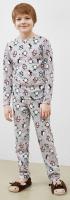 Пижама детская Mark Formelle 563314 (р.104-56, пингвины на сером) -