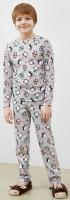 Пижама детская Mark Formelle 563314 (р.110-56, пингвины на сером) -