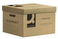 Коробка архивная Q-Connect KF15850 (коричневый) -