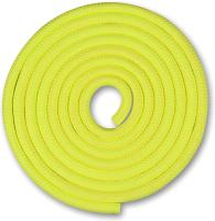 Скакалка для художественной гимнастики Indigo SM-121 (2.5м, лимонный) -