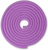 Скакалка для художественной гимнастики Indigo SM-121 (2.5м, сиреневый) -