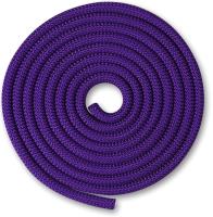 Скакалка для художественной гимнастики Indigo SM-121 (2.5м, фиолетовый) -