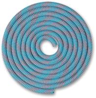 Скакалка для художественной гимнастики Indigo SM-359 (2.5м, серый/голубой) -