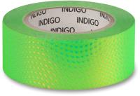 Обмотка для гимнастического снаряда Indigo Snake IN303 (зеленый/золото) -