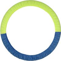 Чехол для гимнастического обруча Indigo SM-084 (голубой/желтый) -