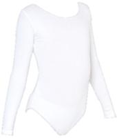 Купальник для художественной гимнастики Indigo SM-093 (р.34, белый) -