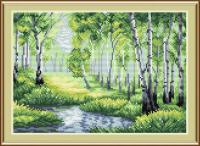 Набор для вышивания М.П.Студия У лесного озера / М-031м -