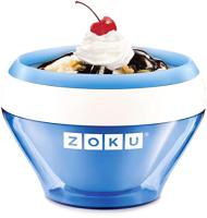 Мороженица Zoku Ice Cream Maker / ZK120-BL (синий) -