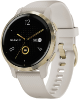 Умные часы Garmin Venu 2s / 010-02429-11 (светло-золотистый) -