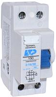 Устройство защитного отключения ETP 2P-16А-30мА (электронное) -
