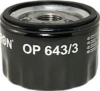 Масляный фильтр Filtron OP643/3 -