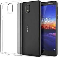 Чехол-накладка Case Better One для Nokia 3.1 (прозрачный) -