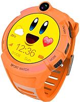 Умные часы детские Smart Baby Watch GW600 (оранжевый) -