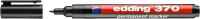 Маркер перманентный Edding 370 / e-370-1 (черный) -