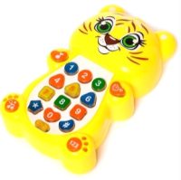 Интерактивная игрушка Zabiaka Тигренок с проектором / 1155428 -