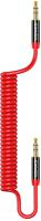 Кабель Usams AUX / US-SJ256 (1.2м, красный) -