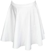 Юбка для художественной гимнастики Indigo SM-078 (р. 40-42, белый) -